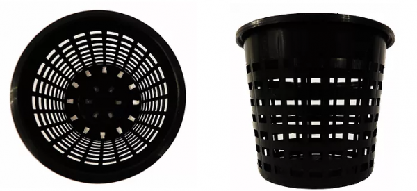 orchid pots with optimum drainage and a proven top quality